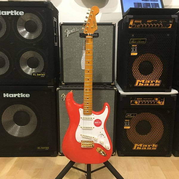 Squier Stratocaster Classic Vibe 50 Fiesta Red